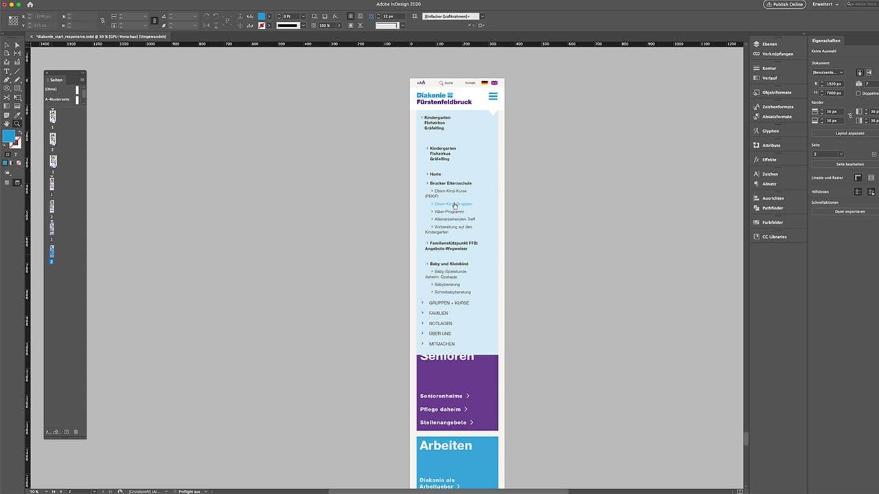 Responsive Design Website, Portfolio Webdesign München