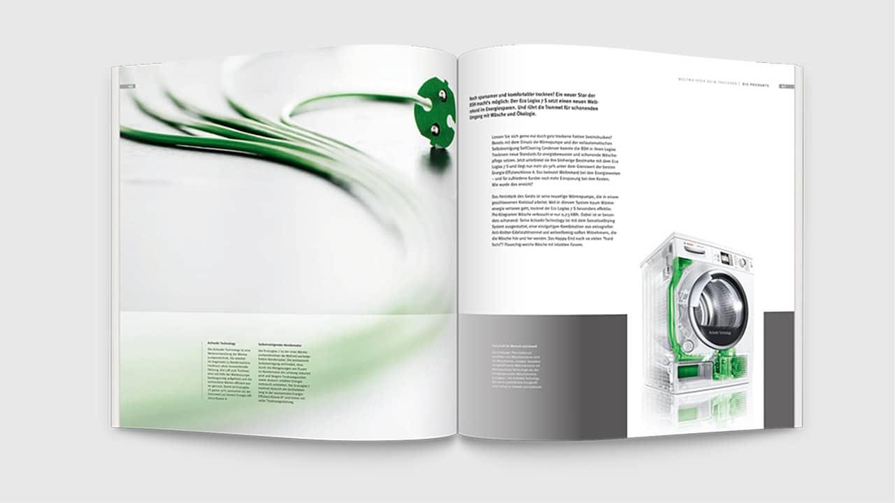 Image Broschüre, Printdesign München