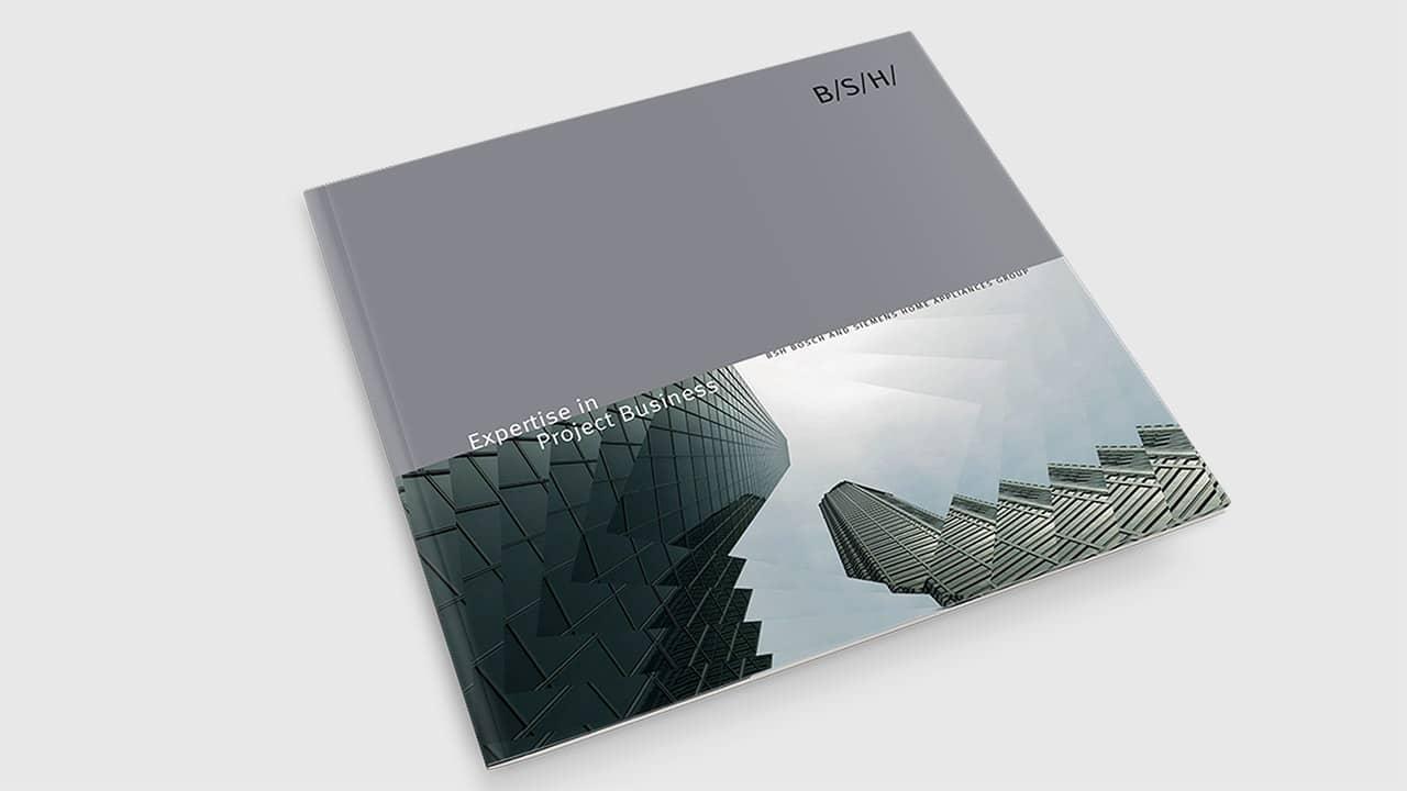 Referenz Printdesign München: Broschüre Objektgeschäft Titel