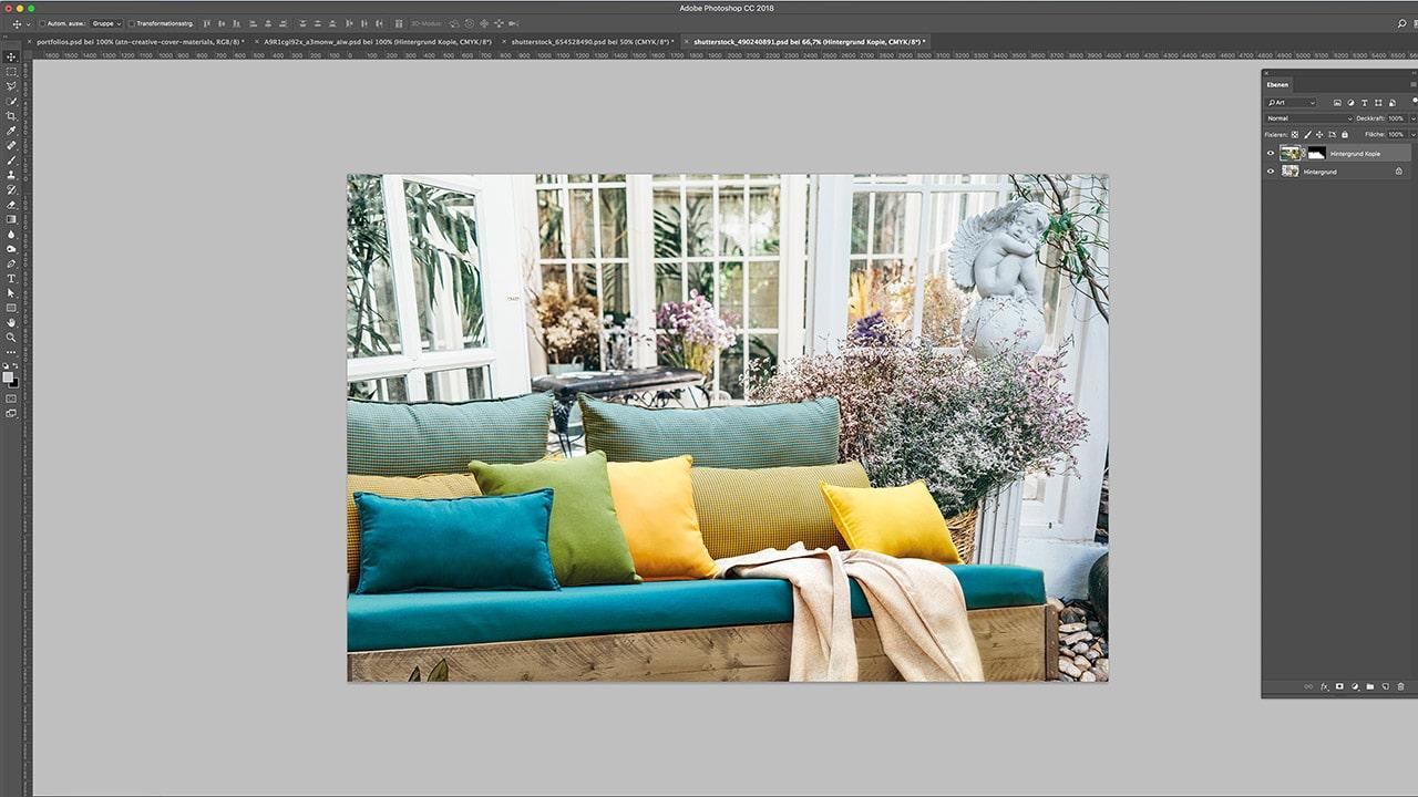 Referenz Photoshop Composing München: Nach der Bildbearbeitung