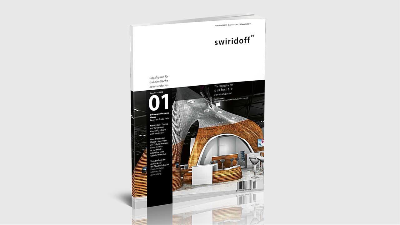 Titelgestaltung für ein Magazin, Editorial Design München
