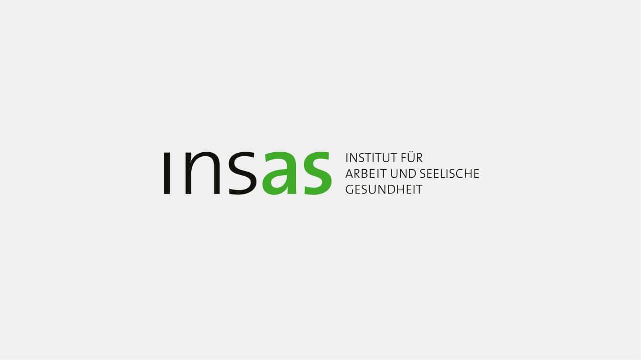 Logo insas Institut, Logo Design München