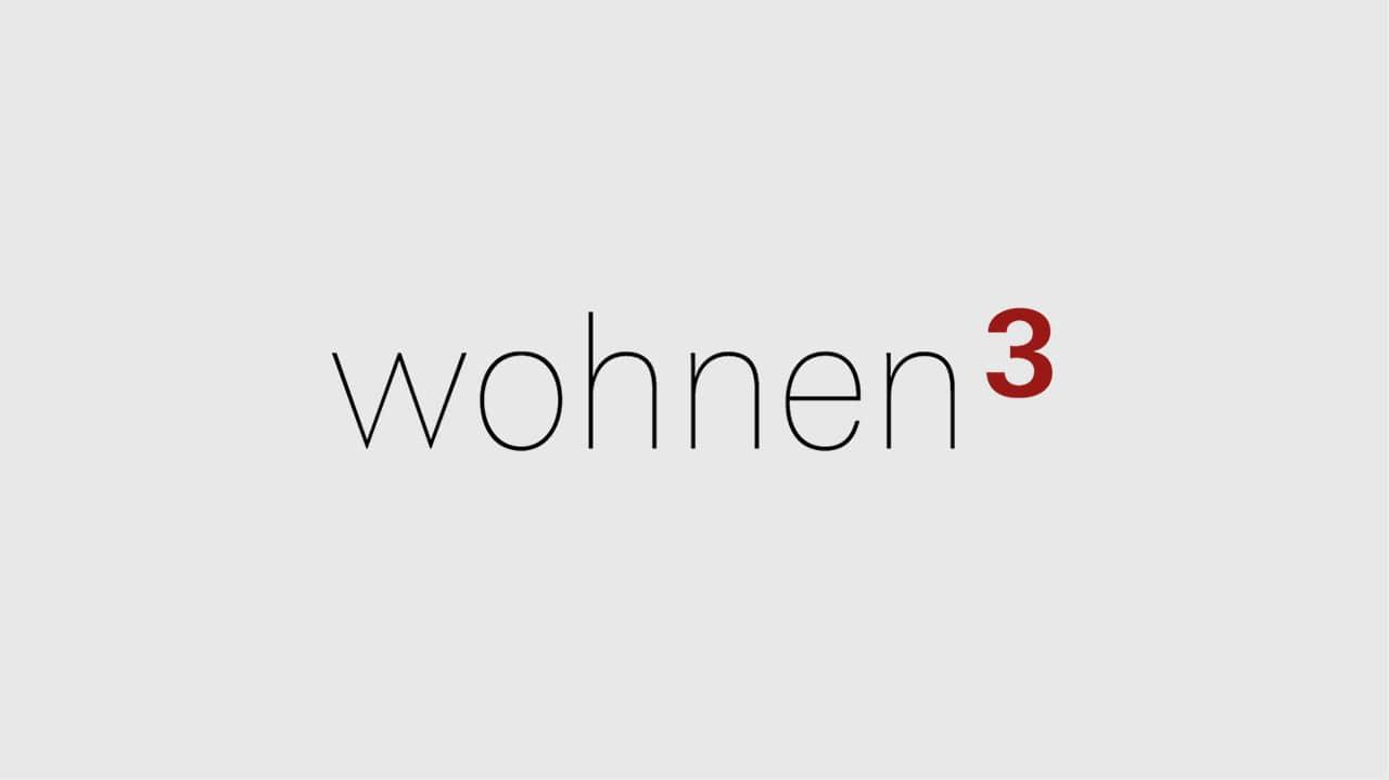 Referenz Logo Design München: Logo wohnen3