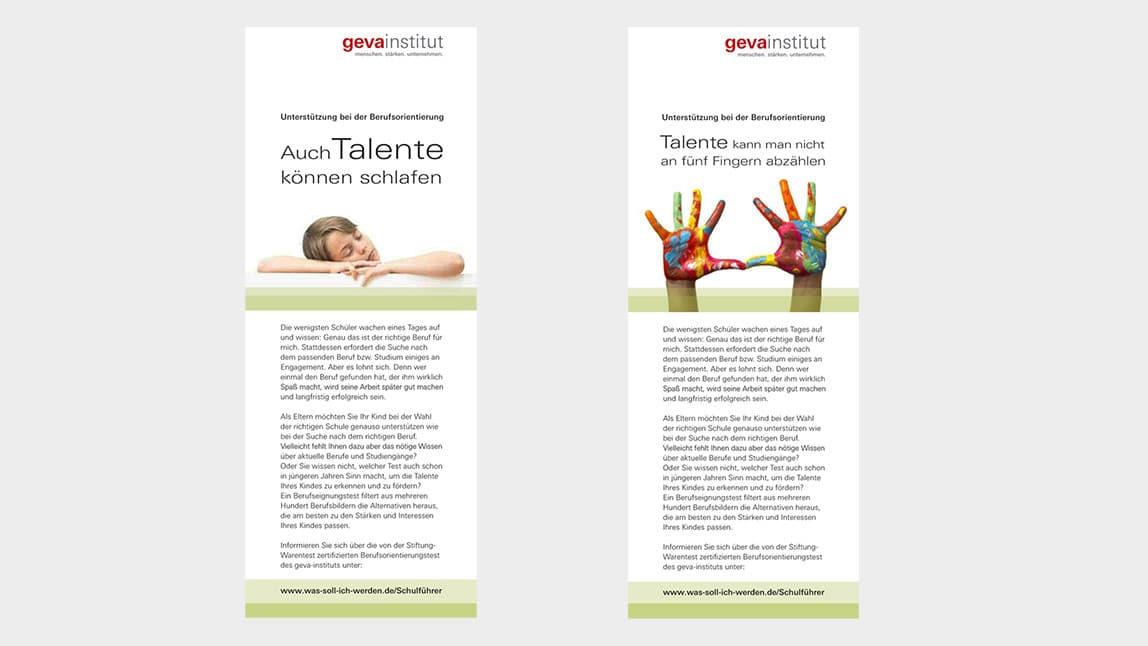 Printdesign München Anzeigen