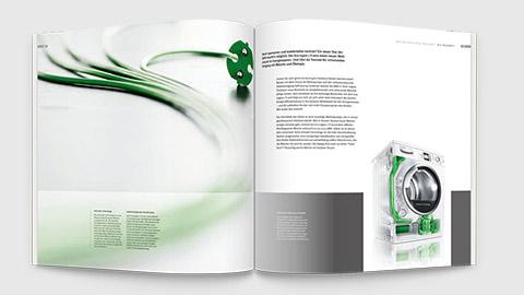 Grafik Design Image Broschüre, Printdesign München