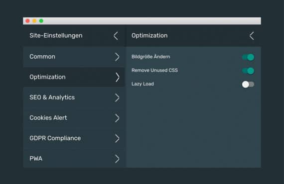 Export von Wow Slider aus Mobirise funktioniert nicht mit Lazy Load, HTML5 Website München