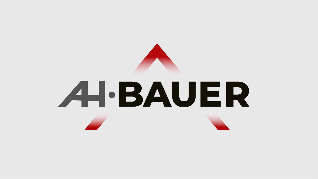 Logo Design Dachdeckerei und Spenglerei A. und H. Bauer, Aschheim bei München