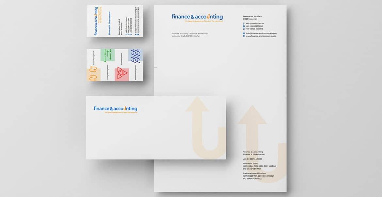 Briefausstattung Grafik Design