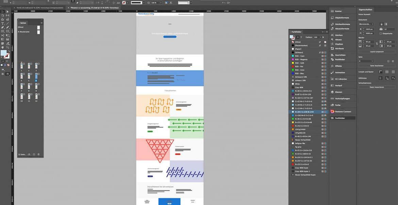 Design Konzept Webdesign
