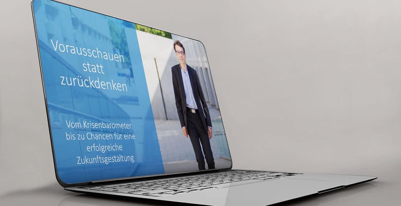 Unternehmens Präsentation in PowerPoint